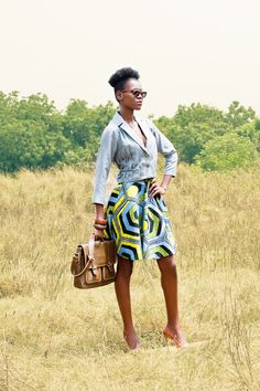 African Prints in Fashion: Ajepomaa Design Gallery: New Collection!