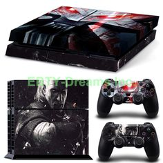 Sony Playstation 4 (PS4) - The Witcher 3 Wild Hunt Video Game Vinyl Skin Sticker Decal Protector