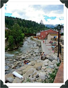 Buena Vista Colorado Mt Princeton Hot Springs-- Vacation with the honey, Christmas of 2013