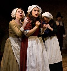 I'm one of these girls in the crucible
