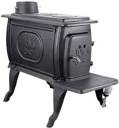 US Stove Company EPA Small Cast Iron Wood Stove Bring a clean burning stove with rustic elegance to your home, with the 1269 Logwood wood stove from United