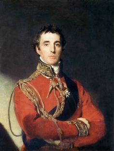 sir thomas lawrence paintings | Image: Sir Thomas Lawrence - Portrait of Arthur Wellesley (1769-1852 ...