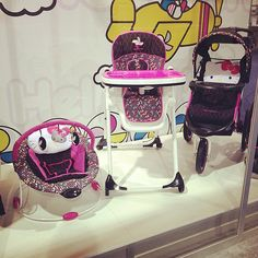 Who doesn't love Hello Kitty!Baby Trend is introducing a Hello Kitty line that includes bouncers, high chairs, strollers, car seats, and more! Hello Kitty House, Hello Kitty Baby, Best Baby Bouncer, Abc For Kids, Boy Blankets, Baby Comforter, Boy Pictures, Baby Girl Romper, Reborn Babies