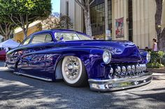 Mercury lead sled Royal Blue
