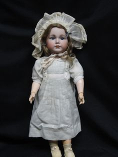 STUNNING ANTIQUE KR 117 CHARACTER DOLL MEIN LIEBLING MIB bisque doll BOXED SET