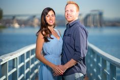 Engagement photos at Coronado in San Diego, California.