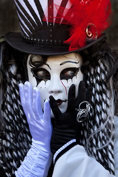 Carnival of Venice, Italy------ this is scary to me.