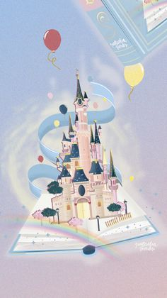 visit for more Illustration chateau Disneyland Paris. Natacha Birds Portfolio The post Illustration chateau Disneyland Paris. Natacha Birds Portfolio appeared first on wallpapers. Disney Pixar, Disney C, Disney Love, Disney Magic, Disney Belle, Bella Disney, Cartoon Wallpaper, Disney Phone Wallpaper, Disneyland Paris