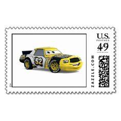Cars Leakless Looking Fast Disney Postage Stamp