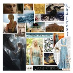 """"""" I am Daenerys Stormborn of the House Targaryen, The First of Her Name, the Unburnt, Queen of Meereen, Queen of the Andals and the Rhoynar and the First Men, Khalisee of the Great Grass Sea, Breaker of Chains and Mother of Dragons."""" by allie-luv ❤ liked on Polyvore featuring GUESS, Monday, Elie Saab, Gianvito Rossi, 2b bebe and Roberto Cavalli"""