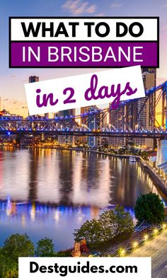 People often underestimate the number of things there are to do in Brisbane, Australia. This shouldn't be surprising though as Brisbane is Australia's third-largest city! If you have 48 hours or a weekend in Brisbane coming up soon, then look no further than this itinerary for ideas! #Brisbane #Queensland #Australia #Oceania #Destguides #itinerary #guide #travel #destination