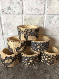 Ceramic serviette rings  dinnerwear  serviette holders