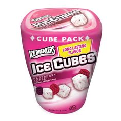 Ice Breakers Ice Cubes Sugar Free Gum, Raspberry Sorbet, 40-Count Pieces (Pack of 8) Ice Breakers http://www.amazon.com/dp/B001IZI940/ref=cm_sw_r_pi_dp_kfR1vb0GDY8A0