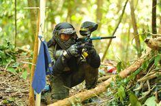 #paintball Sniper Paintball and scenario paintball. woodsball paintball