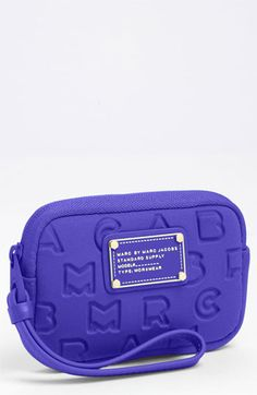 MARC BY MARC JACOBS tech case.....perfect since I carry around so many iPods