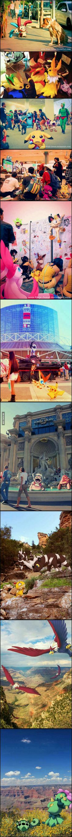 Pokemons: If only they were real