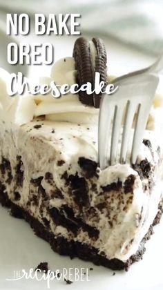 Peanut Butter Dessert Recipes, Oreo Cheesecake Recipes, Dessert Cake Recipes, Chocolate Chip Recipes, Healthy Dessert Recipes, Chocolate Oreo Cheesecake Recipe, Delicious Desserts, Chocolate Truffles, Chocolate Brownies