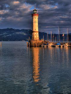 """Lindau Lighthouse"" by Sorin M., via 500px."