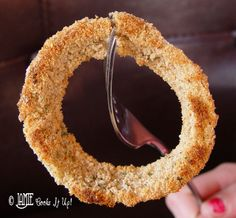 Healthy Oven Baked Onion Rings from Jamie Cooks It Up! #superbowlrecipes #gamedayfood #healthysuperbowlrecipes