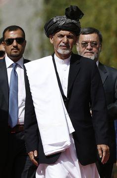Afghanistan swears in new president : Ashraf Ghani Ahmadzai