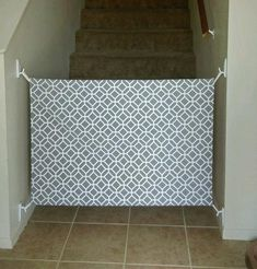 How To Make A Diy Fabric Baby Gate For Your Home Sew It Yourself