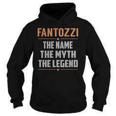 I Love FANTOZZI The Myth, Legend - Last Name, Surname T-Shirt Shirts & Tees