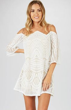 Humble Dress - White