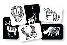 Wee Gallery Kijkkaarten, Baby Art Cards Safari