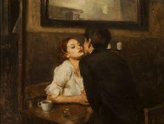 "Ron HICKS, ""CAFE KISS"" 2013"