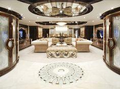 Jet e yacht, il concorso che premia i più belli, zona relax e salotto