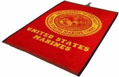 US Marines Golf Towel - NCAA College Athletics by SunTime. $24.95. Logo is Woven Into the Towel. Premium Weight 100% Cotton. Absorbent Loop Construction. Center Placement Swivel Clip. Coordinated Team Colors. Golf Towel with your favorite team's logo! Great for every golf fan!. Save 38% Off!