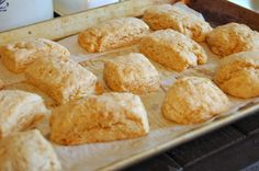Buttery Whole-Wheat Biscuits. (soaked!)