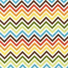 1/2 YARD Remix Bermuda Zig Zag Fabric by Robert Kaufman!