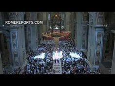 El Papa impone el Palio a los arzobispos metropolitanos nombrados el último año - YouTube