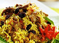 Nasi Kebuli is a biryani like preparation of ghee, meat and rice from Indonesia. As Indonesia is a melting pot of many different Asian cultures, this biryani has borrowed a little from all Asian countries.