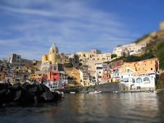 Procida from the boat
