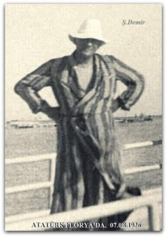 Atatürk Florya'da.  07.08.1936