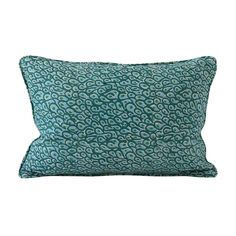 Walter G Wholesale Portal - AUS - Uzes Emerald linen cushion 30x45cm Hand Printed Fabric, Printing On Fabric, Bonnie And Neil, Impressionist Artists, Australia Living, Designers Guild, Soft Furnishings, Artist At Work, Cushion Covers
