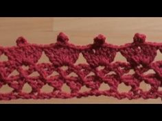 ▶ How to Crochet the Edge / Border Stitch P #9 by ThePatterfamily - YouTube