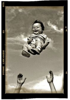 The beautiful thing about children's laughter, is that when a child laughs - the kid REALLY means it.