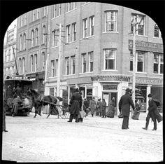 Toronto-ne corner king yonge 1895