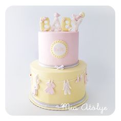 baby shower pastası