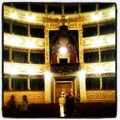 2nd stop in Parma at the wonderful Regio Theater - Instagram by @n_montemaggi