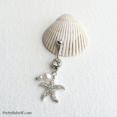 Hey, I found this really awesome Etsy listing at https://www.etsy.com/listing/222002452/pearl-belly-ringbelly-button