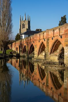Great Barford Bridge, Bedfordshire My 10th gr grandmother Grace Wheeler was b in nearby Cranfield in 1594, before moving to Massachusetts.