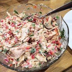 Tasty Health: Snabb kycklingröra till wraps, sallader mm