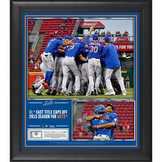 New York Mets Fanatics Authentic Framed 15'' x 17'' 2015 NL East