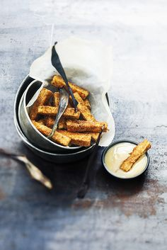 Eggplant French Frie
