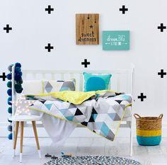 Adairs Kids Boys Lone Bandit Cot Quilt Cover - Nursery Bed Linen - Adairs Kids online
