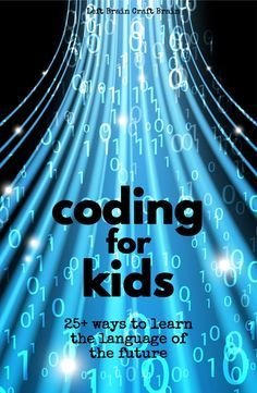 Coding for Kids – Anne @ Left Brain Craft Brain Coding for Kids coding apps, games, activities, even screen-free options, too! Computer Coding, Computer Science, Computer Programming, Programming For Kids, Programming Languages, Teaching Technology, Educational Technology, Teaching Biology, Technology Tools
